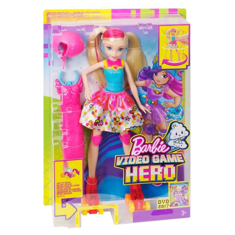 Lalka Barbie Na Rolkach Dtw17 Sklep Zabawkowy Kimland Pl