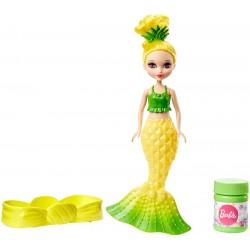 Lalka Barbie DVM99 Bąbelkowa mała syrenka - Żółta