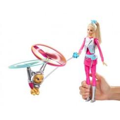Barbie DWD24 Gwiezdna Przygoda - Barbie i Latający kotek