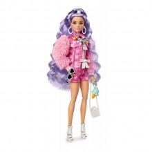 Barbie Extra – Lalka Barbie z figurką pieska – GRN27 GXF08