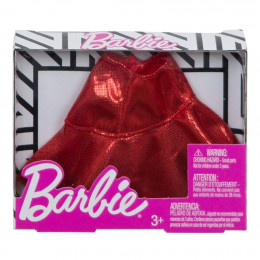 Barbie - Modna spódniczka czerwona - FXH83