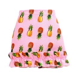 Barbie - Modna spódniczka różowa w ananasy - FXH84