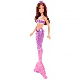 Barbie BDB48 Perłowa Syrena - fioletowa