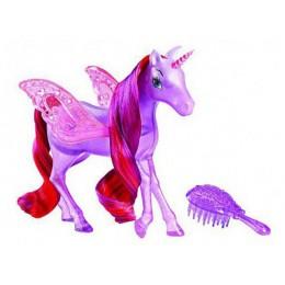 Barbie BLP38 Baśniowe Zwierzaki Pegaz Fioletowy