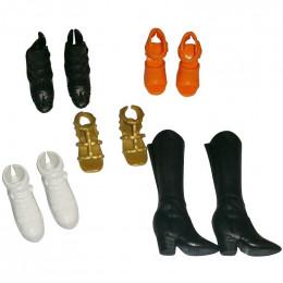 Barbie - Zestaw butów - FCR92