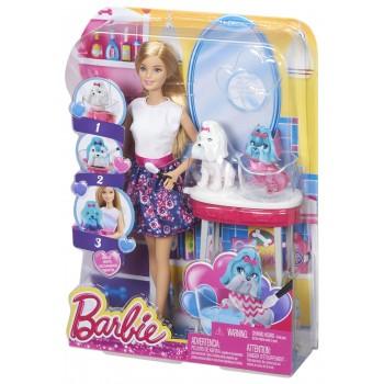 Barbie CFN40 Magiczna Transformacja + Piesek