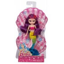 Barbie Fairy CGK87 Mała Syrenka Fioletowa