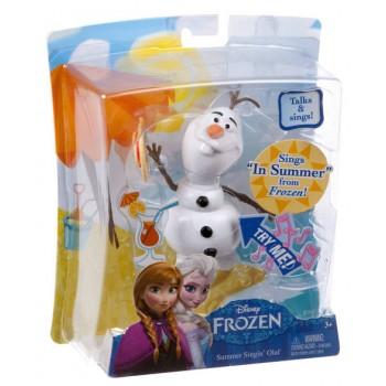 Barbie Disney Frozen Bałwan Olaf z Dźwiękiem CJW68