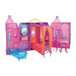 Barbie CMP12 Bajkowy domek księżniczki z lalką