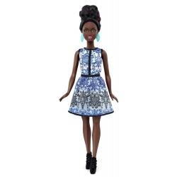 Barbie Fashionistas DMF27 Modna Lalka nr 27 Afroamerykanka