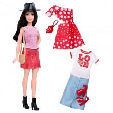 Barbie Fashionistas - Modna lalka + ubranka nr 40 - DTF03