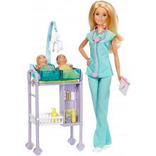 Barbie - Możesz być kim chcesz - Lalka Pediatra DVG10