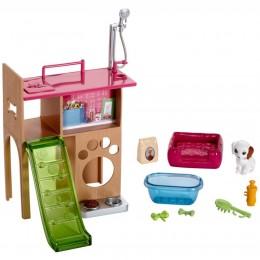 Barbie Akcesoria DVX50 Mebelki - Kącik pieska