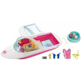 Barbie FBD82 Delfiny z Magicznej Wyspy - Wakacyjny jacht z pieskami