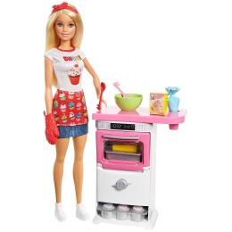 Barbie - Domowe wypieki - Zestaw z lalką FHP57