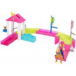 Barbie FHV66 On The Go - Wyścig Kucyków - zestaw z lalką