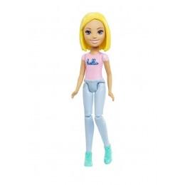 Barbie FHV73 On The Go - Lalka blondynka (rozpuszczone włosy)