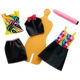 Barbie Crayola FHW86 Zrób to sam - Tęczowe wzory