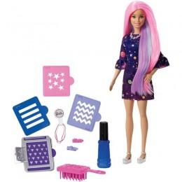Barbie DIY FHW99 Kolorowa niespodzianka - Stylistka fryzur