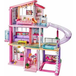 Barbie - Idealny domek dla lalek z wyposażeniem - Światła i dźwięki FHY73