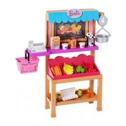 Barbie FJB27 Zestaw akcesoriów - Sklepik spożywczy