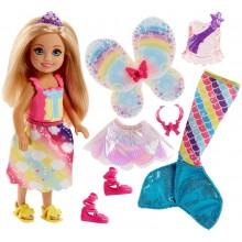 Barbie Dreamtopia FJC99 Magiczna przemiana Chelsea