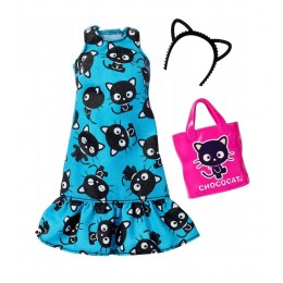 Barbie FKR71 Zestaw ubranek dla lalek - Hello Kitty