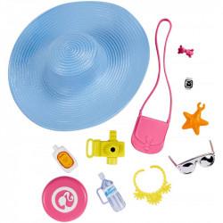 Barbie - Zestaw akcesoriów z kapeluszem - FKR90