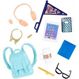 Barbie - Zestaw akcesoriów z plecakiem - FKR92
