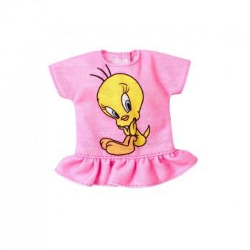 Barbie – Ubranka dla Barbie – Bluzka Tweety Looney Tunes – FXJ79 FLP40