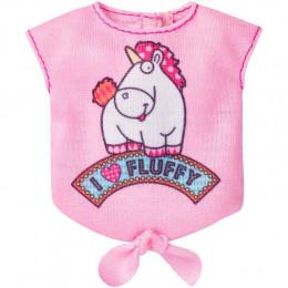 Barbie – Minionki Różowa bluzeczka z jednorożcem - FLP50
