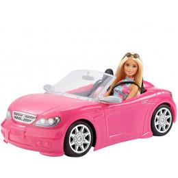 Barbie - Lalka Barbie w różowym kabriolecie – FPR57