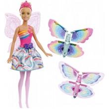 Barbie Dreamtopia - Lalka Latająca Wróżka - FRB08