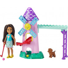 Barbie - Club Chelsea - Zestaw do mini golfa FRL85
