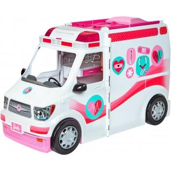 Barbie - Mobilna klinika - Rozkładana karetka i szpital 2w1 - FRM19