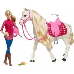 Barbie Dream Horse FRV36 Interaktywny koń + lalka
