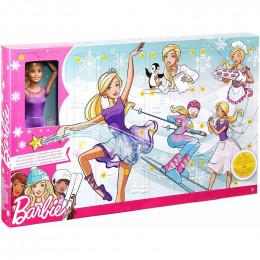 Barbie - Kalendarz adwentowy - Lalka i 24 niespodzianki FTF92