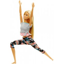 Barbie - Lalka Ruchoma - Made To Move - Blondynka FTG81