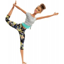 Barbie - Ruchoma Lalka - Made To Move - Szatynka FTG82