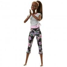 Barbie - Lalka Ruchoma - Made To Move - Ciemnoskóra FTG83
