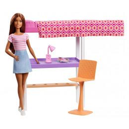 Barbie - Sypialnia lalki Barbie - FXG52