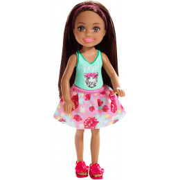 Barbie - Club Chelsea - Dziewczynka Brunetka - FXG79