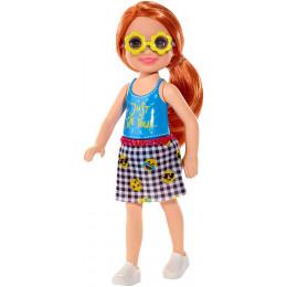 Barbie - Club Chelsea - Dziewczynka z Rudymi Włosami - FXG81