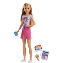 Barbie - Lalka Skipper Opiekunka w różowym stroju - FXG91