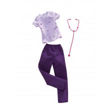 Barbie - Zestaw ubranek - Lekarka FXH96