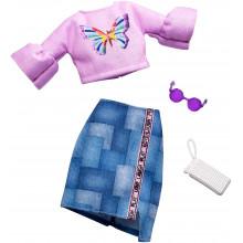 Barbie - Modne kreacje - Top i spódnica FXJ02