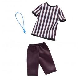 Barbie – Ubranka dla Barbie – Strój sędziego piłki nożnej – FXJ49 FXJ51