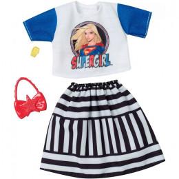 Barbie – Ubranka dla Barbie – Strój Supergirl – FKR66 FXK73