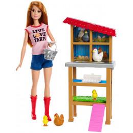 Barbie - Możesz być kim chcesz - Lalka Farmerka FXP15