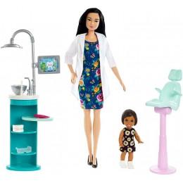 Barbie – Możesz być kim chcesz – Lalka dentystka FXP17